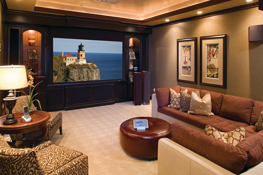 Do You Know about These Four Hot Home Theater Design Trends?