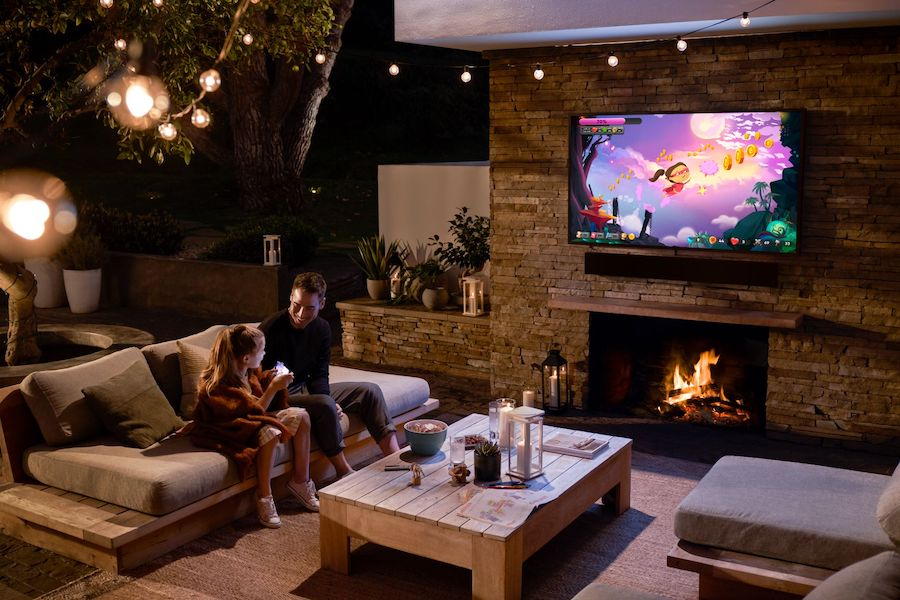 Bring Your Favorite Video Entertainment Outside with an Outdoor TV